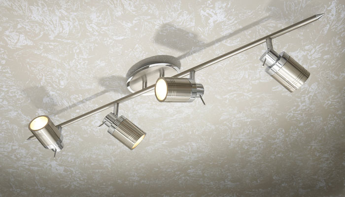 Multi-Angled Spotlights are a great idea to create more light