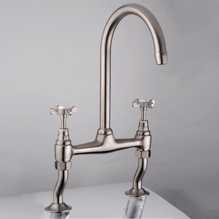 An unusual looking pewter tap that is a joy to look at.